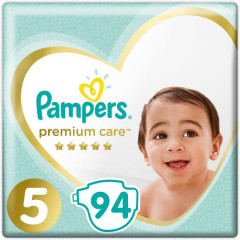 Pampers Premium Care Size (5) 94 Pieces